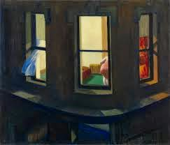 """Night Windows"" by Edward Hopper, 1928"