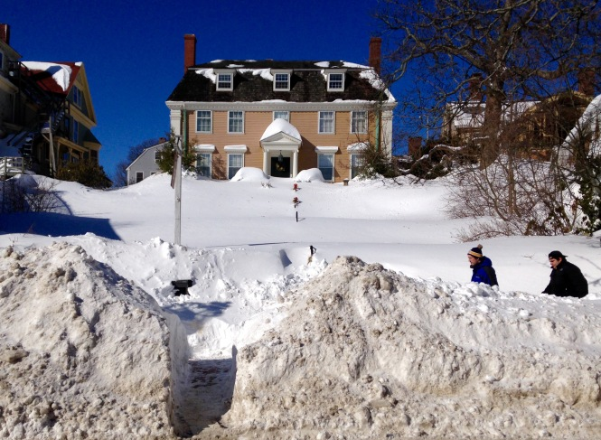 Photo  Sargent House, Main Street, Gloucester, Massachusetts,  winter 2015,  by Bing McGilvray