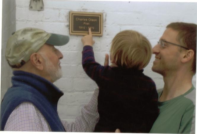 Isaac at Olson house (2)