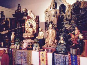 Bob's Buddhist Shrine