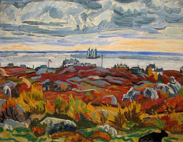Gloucester Landscape 1919 Stuart Davis (1892-19640