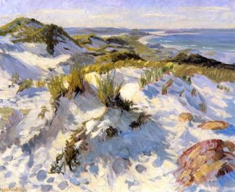 Dunes at Annisquam. 1916 John French Sloan