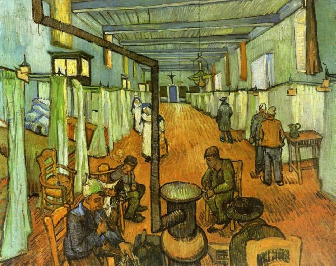 Hospital in Arles. 1889. Vincent van Gogh (1853-1890)