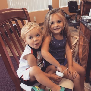Emerson Belle and Ryder Kai Sanborn