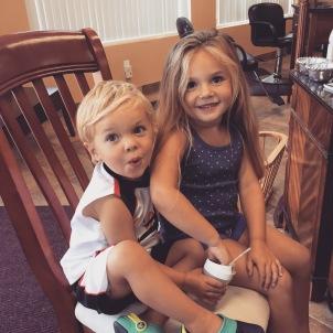 Emerson Belle and Ryder Kai Sanborn
