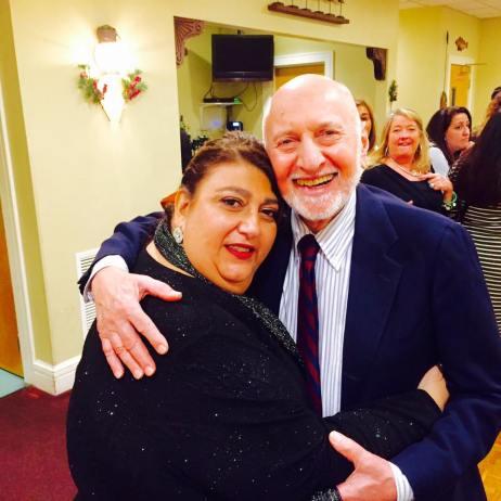 Peter Anastas and Sefatia Romeo Theken. Gloucester Mayoral Inaugration. January 1, 2016.