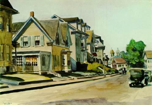 Prospect Street, Gloucester. 1928 Hopper, Edward (1882-1967)