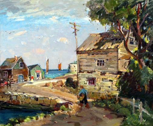 Lane's Cove. Antonio Cirino (1889-1983)