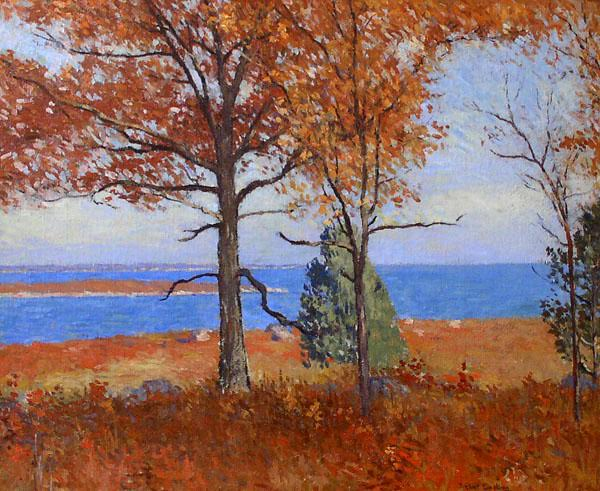 Autumn at the Shore. Joseph Eliot Enneking (1881 - 1942)