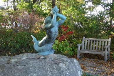 Triton, sculpted by Walker Hancock The Elizabeth Gordon Smith Park