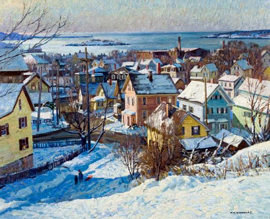 Gloucester Winter © T. M. Nicholas