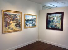 Scenes from the Charles Movalli exhibition at the Cape Ann Museum. 4